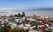 Reykjavik cityspace — Stock Photo
