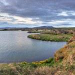 Myvatn lake at sunset - Iceland — Stock Photo
