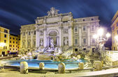Rome, Italy - famous Trevi Fountain (Italian: Fontana di Trevi) — Stock Photo