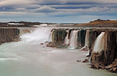 Selfoss waterfall in Vatnajokull National Park, Northeast Icelan — Stock Photo