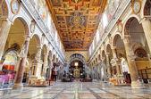 ROME, MARCH - 21: Interior of church Santa Maria Aracoeli. March — Stock Photo