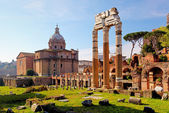 Forum Romanum - Rome, Italy — Stock Photo