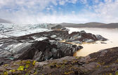 Skaftafellsjokull, Skaftafell National Park, South Iceland — Stock Photo