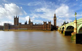 Houses of parliament - Big ben, england, UK — Stok fotoğraf