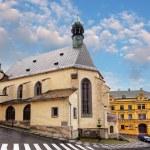 Banska Stiavnica, St. Katharine church, Slovakia. — Stock Photo #46545727