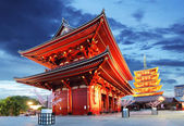 Tokyo - Sensoji-ji, Temple in Asakusa, Japan — Stock Photo