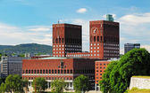 City Hall - Radhuset, Oslo, Norway — Stock Photo