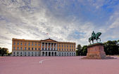 Royal Palace (Slottet) in Oslo,  Norway — Stock Photo