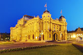 Zagreb - Croatian National Theate — Foto Stock
