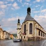 Banska Stiavnica, St. Katharine church, Slovakia. — Stock Photo #48430347