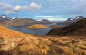 Mountain norway landscape - Lofoten — Stock Photo