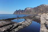 Senja island,Norway — Stock Photo
