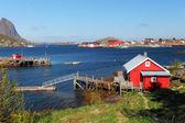 Fishing town of Reine — Stock Photo