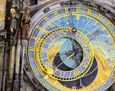 Prague Astronomical Clock (Orloj) in the Old Town of Prague — Stock Photo