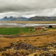 Mountain Iceland panorama with fjord — Stock Photo #50628203