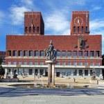 City Hall - Radhuset, Oslo, Norway — Stock Photo #50628667