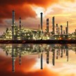 Oil refinery, time lapse — Stock Video #50885237