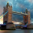 Tower bridge - London, Time lapse — Stock Video #50889223