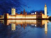 Houses of parliament - Big ben, england, UK — Stock Photo