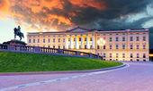 Royal palace in Oslo, Norway — Stockfoto