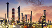 Factory - oil and gas industry — Foto Stock