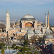 Beautiful Hagia Sophia Museum aerial view — Stock Photo