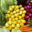 Fresh and organic vegetables — Stock Photo