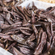 Stock Photo: Carob Pods in box