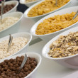 Corn flakes and Musli — Stock Photo