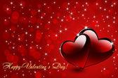Valentine Day Greeting Card — Stock Photo