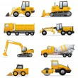 Building machines set — Stock Vector #36158617