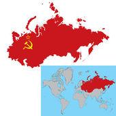 Soviet Union — Stock Vector