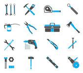 Nástroje ikony nastavit — Stock vektor