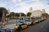 Placa Catalunya — Stock Photo