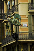 Barcelona Dragon — Stock Photo