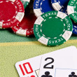 Poker game - Stock Photo