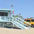 Lifeguard tower at Santa Monica — Stock Photo #26308875