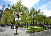 WTC memorial Park — Stock Photo