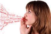 Dime un secreto — Foto de Stock