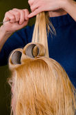 At the hairdresser — Stock Photo
