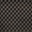 Closeup background of acoustic foam wall — Stock Photo