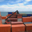 Stock Photo: Freight containers