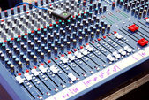Audio mixer — Foto de Stock