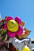 Smiley balloon — Stock Photo