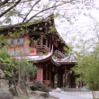 The back garden of Lin An Tai Historical house — Stock Video