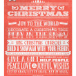 Vintage Christmas And Happy New Year Background With Typography — Stockfoto #19230941