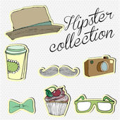 Hipster Set — Stock Photo
