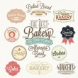 Stock Photo: Vintage Retro Bakery Badges And Labels