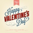 Happy Valentine's Day Background — Vector de stock