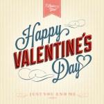 Happy Valentine's Day Background — Stockvektor